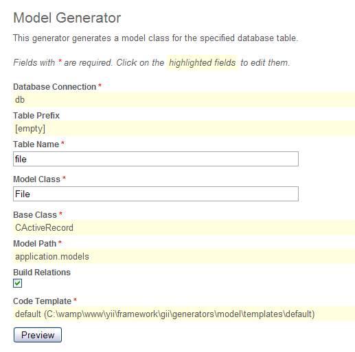 图 4. 使用 Model Generator 生成模块代码