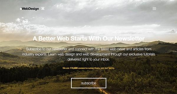 紧跟趋势,20个使用隐藏式菜单导航的优秀网页设计